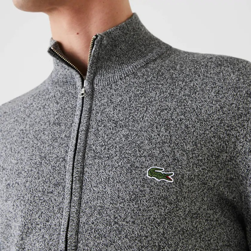 deal promo pull zip lacoste