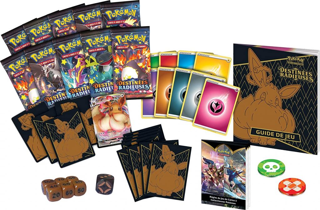 deal coffret pokémon etb evoli
